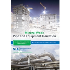 Mechanical Insulation Installation Video Series - Mineral Wool